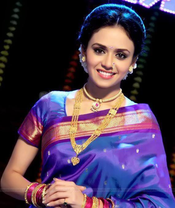Images Of Marathi Actress In Saree  Holidays Oo-1126