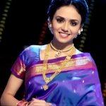 Amruta Khanvilkar In Saree Photo