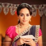 Amruta Khanvilkar Marathi Actress in Saree