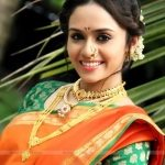 Amruta Khanvilkar in Saree