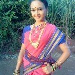 Minal-Ghorapade-Marathi-Actress-in-saree-6