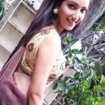 Rupali Bhosle in saree