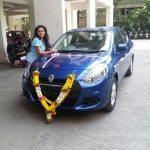 shruti-marathe-with-her-new-car