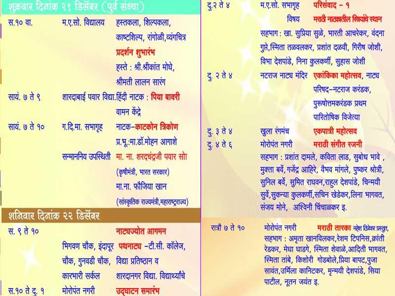 Marathi ekankika script