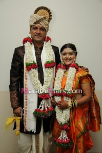 Vikram gaikwad and akshata kulkarni wedding photos
