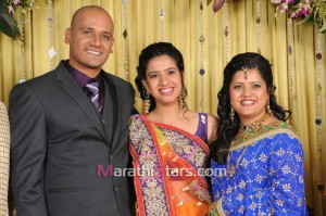 Vikram gaikwad marriage photos (4)