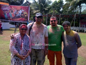 Meghana Yerande Holi photos
