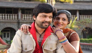 Ankush Chaudhary & Richa Pariyalli - Duniyadari Marathi Movie Still Photos