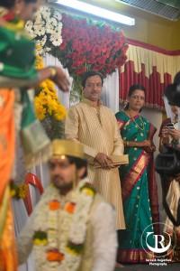 Tejashree Pradhan and Shashank Ketkar Marriage Photos